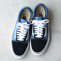 VANS(バンズ)USモデルOLD SKOOLオールドスクール(VN000D3HNVY)NVY/WHT