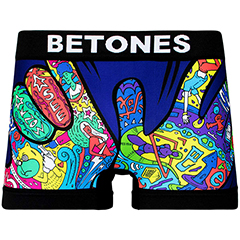 ビトーンズ BETONES ROCKS FLY IN(RFI-001)BLACK